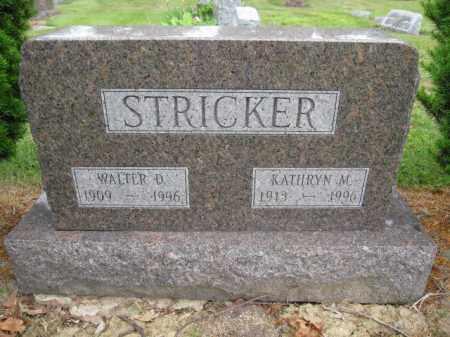 STICKER, KATHRYN M - Union County, Ohio | KATHRYN M STICKER - Ohio Gravestone Photos
