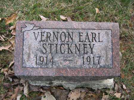 STICKNEY, VERNON EARL - Union County, Ohio | VERNON EARL STICKNEY - Ohio Gravestone Photos