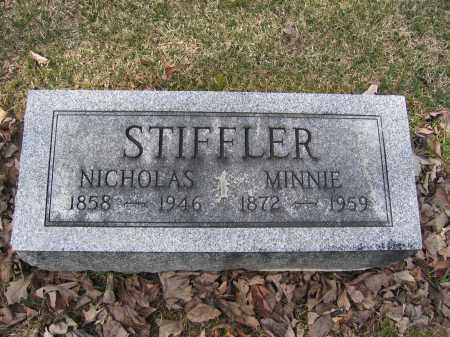 STIFFLER, NICHOLAS - Union County, Ohio | NICHOLAS STIFFLER - Ohio Gravestone Photos