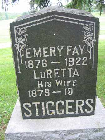 STIGGERS, EMERY FAY - Union County, Ohio | EMERY FAY STIGGERS - Ohio Gravestone Photos
