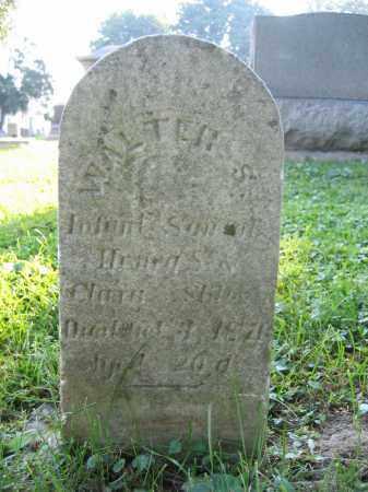 STILES, WALTER S. - Union County, Ohio | WALTER S. STILES - Ohio Gravestone Photos