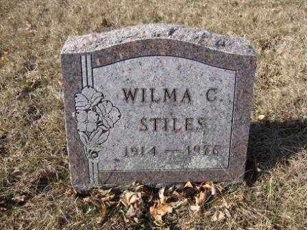 STILES, WILMA C. - Union County, Ohio | WILMA C. STILES - Ohio Gravestone Photos