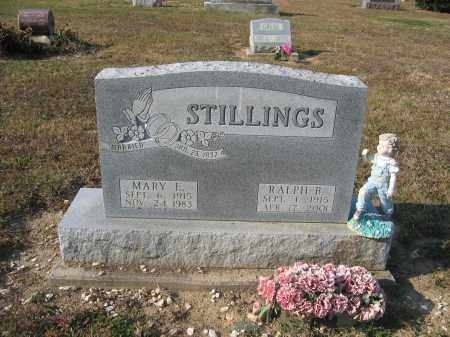 STILLINGS, RALPH B. - Union County, Ohio | RALPH B. STILLINGS - Ohio Gravestone Photos