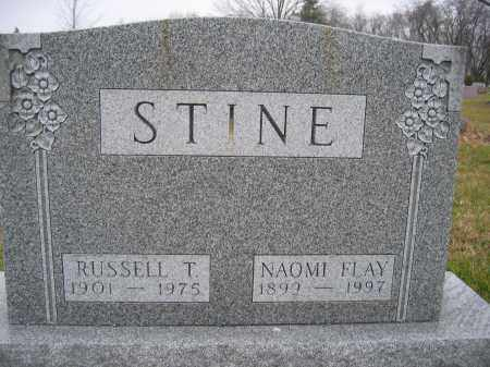 STINE, RUSSELL T. - Union County, Ohio | RUSSELL T. STINE - Ohio Gravestone Photos