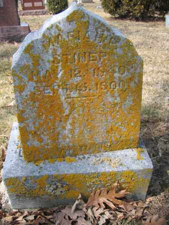 STINER, MARIAH BOWEN - Union County, Ohio | MARIAH BOWEN STINER - Ohio Gravestone Photos