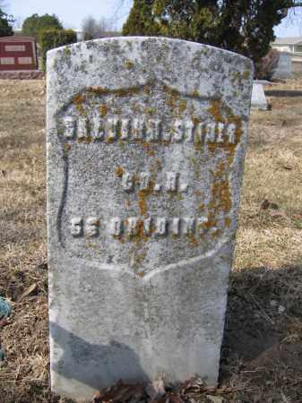 STINER, CALVIN - Union County, Ohio | CALVIN STINER - Ohio Gravestone Photos