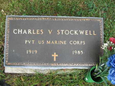 STOCKWELL, CHARLES V. - Union County, Ohio   CHARLES V. STOCKWELL - Ohio Gravestone Photos