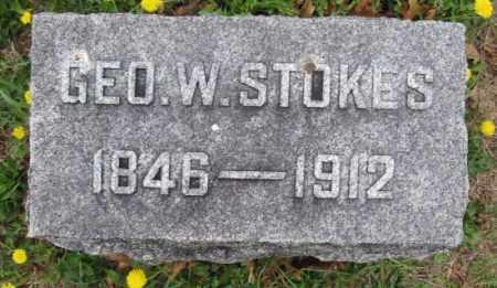 STOKES, GEORGE W. - Union County, Ohio | GEORGE W. STOKES - Ohio Gravestone Photos