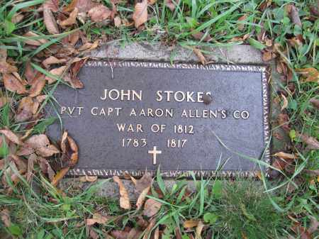 STOKES, JOHN - Union County, Ohio | JOHN STOKES - Ohio Gravestone Photos