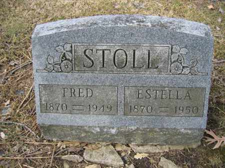 STOLL, FRED - Union County, Ohio | FRED STOLL - Ohio Gravestone Photos