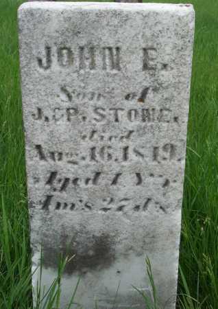 STONE, JOHN E. - Union County, Ohio | JOHN E. STONE - Ohio Gravestone Photos