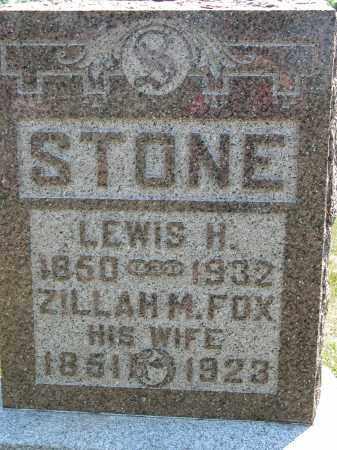 STONE, LEWIS H. - Union County, Ohio | LEWIS H. STONE - Ohio Gravestone Photos