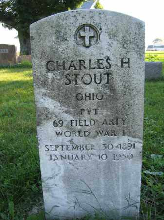 STOUT, CHARLES H. - Union County, Ohio | CHARLES H. STOUT - Ohio Gravestone Photos