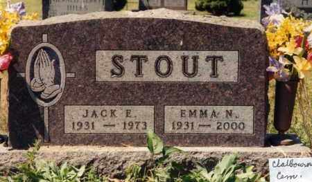 STOUT, EMMA NEIL LUCAS - Union County, Ohio | EMMA NEIL LUCAS STOUT - Ohio Gravestone Photos