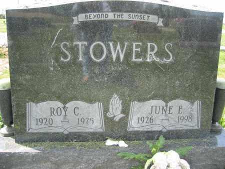 STOWERS, ROY CLARENCE - Union County, Ohio | ROY CLARENCE STOWERS - Ohio Gravestone Photos
