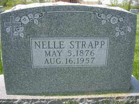 STRAPP, NELLE - Union County, Ohio | NELLE STRAPP - Ohio Gravestone Photos
