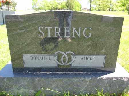STRENG, DONALD L. - Union County, Ohio | DONALD L. STRENG - Ohio Gravestone Photos