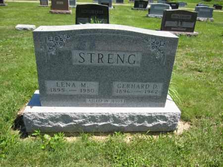 STRENG, LENA M. - Union County, Ohio | LENA M. STRENG - Ohio Gravestone Photos