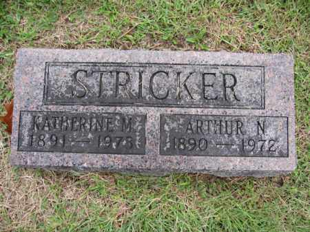 STRICKER, KATHERINE M. - Union County, Ohio | KATHERINE M. STRICKER - Ohio Gravestone Photos