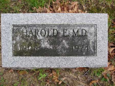 STRICKER, HAROLD E. - Union County, Ohio | HAROLD E. STRICKER - Ohio Gravestone Photos