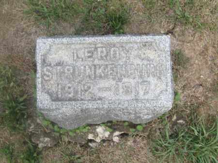 STRUNKENBERG, LEROY - Union County, Ohio | LEROY STRUNKENBERG - Ohio Gravestone Photos