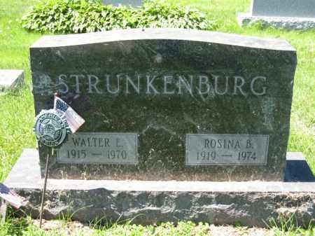STRUNKENBURG, WALTER L. - Union County, Ohio   WALTER L. STRUNKENBURG - Ohio Gravestone Photos