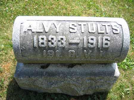 STULTS, ALVY - Union County, Ohio | ALVY STULTS - Ohio Gravestone Photos
