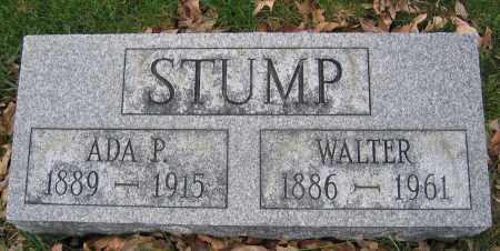 STUMP, WALTER - Union County, Ohio | WALTER STUMP - Ohio Gravestone Photos