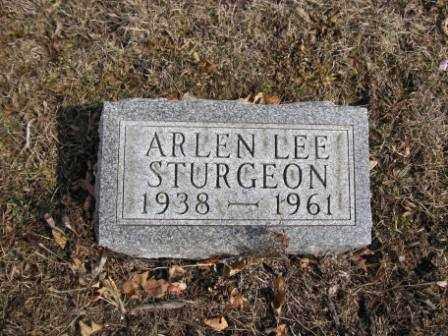 STURGEON, ARLEN LEE - Union County, Ohio | ARLEN LEE STURGEON - Ohio Gravestone Photos