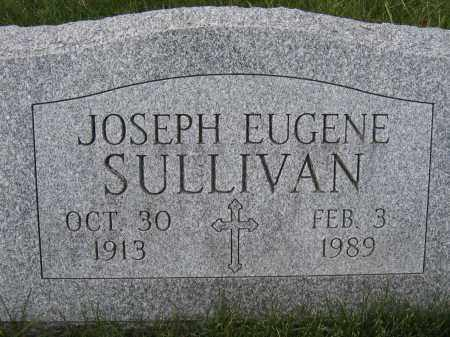 SULLIVAN, JOSEPH EUGENE - Union County, Ohio | JOSEPH EUGENE SULLIVAN - Ohio Gravestone Photos
