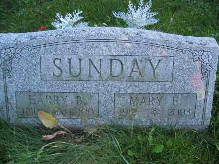 SUNDAY, MARY E. - Union County, Ohio | MARY E. SUNDAY - Ohio Gravestone Photos