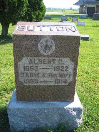 SUTTON, ALBERT C. - Union County, Ohio | ALBERT C. SUTTON - Ohio Gravestone Photos