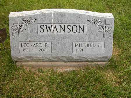 SWANSON, LEONARD R. - Union County, Ohio   LEONARD R. SWANSON - Ohio Gravestone Photos