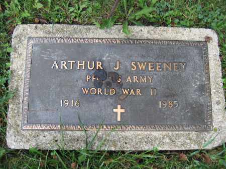 SWEENEY, ARTHUR J. - Union County, Ohio   ARTHUR J. SWEENEY - Ohio Gravestone Photos