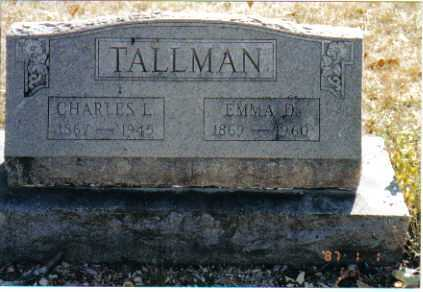 RUHLEN TALLMAN, EMMA DOROTHEA - Union County, Ohio | EMMA DOROTHEA RUHLEN TALLMAN - Ohio Gravestone Photos