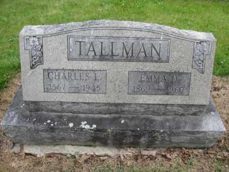 TALLMAN, CHARLES LOGAN - Union County, Ohio | CHARLES LOGAN TALLMAN - Ohio Gravestone Photos