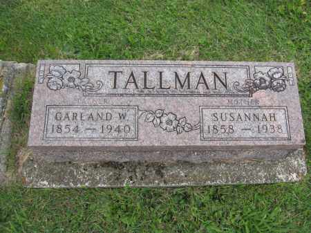TALLMAN, GARLAND W. - Union County, Ohio | GARLAND W. TALLMAN - Ohio Gravestone Photos