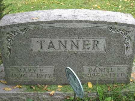 TANNER, MARY E. - Union County, Ohio | MARY E. TANNER - Ohio Gravestone Photos