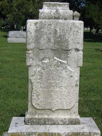 TANNER, ELIZABETH - Union County, Ohio   ELIZABETH TANNER - Ohio Gravestone Photos