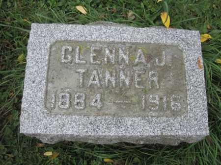 TANNER, GLENNA J. - Union County, Ohio   GLENNA J. TANNER - Ohio Gravestone Photos