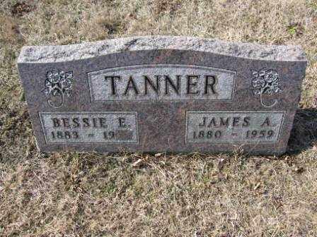 TANNER, BESSIE E. - Union County, Ohio   BESSIE E. TANNER - Ohio Gravestone Photos