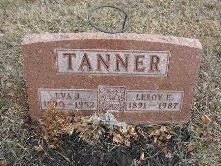 TANNER, EVA J. - Union County, Ohio | EVA J. TANNER - Ohio Gravestone Photos