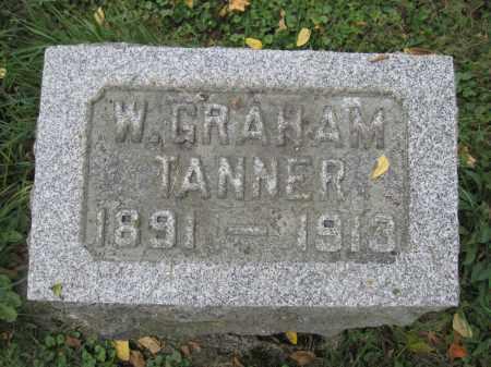 TANNER, W. GRAHAM - Union County, Ohio | W. GRAHAM TANNER - Ohio Gravestone Photos