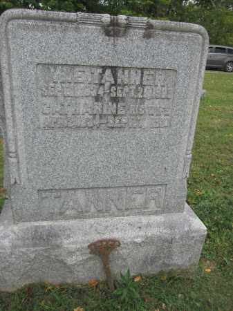 TANNER, CATHARINE - Union County, Ohio | CATHARINE TANNER - Ohio Gravestone Photos