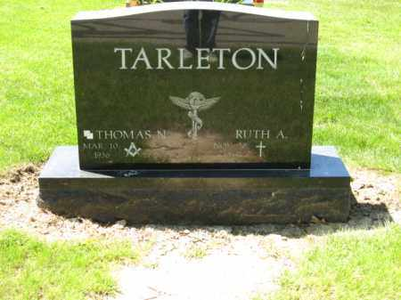TARLETON, THOMAS N. - Union County, Ohio | THOMAS N. TARLETON - Ohio Gravestone Photos