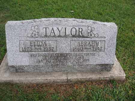 TAYLOR, ABRAHM - Union County, Ohio | ABRAHM TAYLOR - Ohio Gravestone Photos