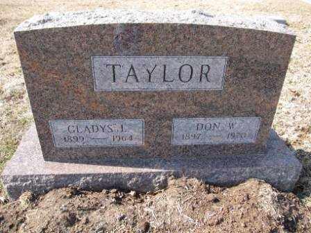 TAYLOR, DON W. - Union County, Ohio | DON W. TAYLOR - Ohio Gravestone Photos