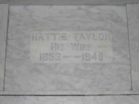 TAYLOR, HATTIE - Union County, Ohio   HATTIE TAYLOR - Ohio Gravestone Photos