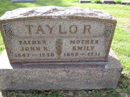 TAYLOR, JOHN R. - Union County, Ohio   JOHN R. TAYLOR - Ohio Gravestone Photos