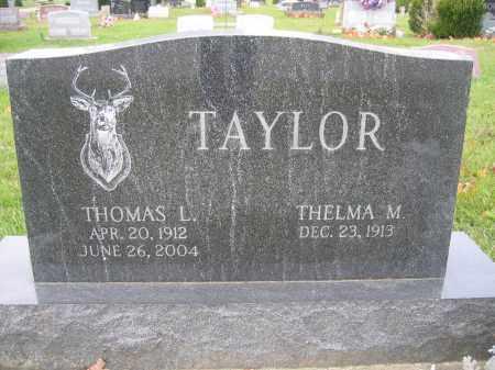 TAYLOR, THELMA M. - Union County, Ohio | THELMA M. TAYLOR - Ohio Gravestone Photos